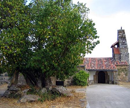 Iglesia de Cozcurrita, en la comarca de Sayago