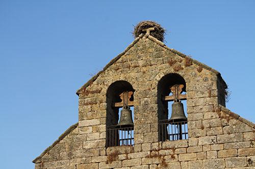 espadaña iglesia moralina de sayago
