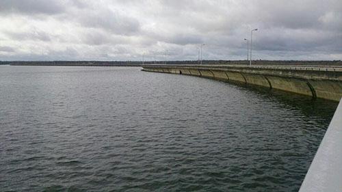La presa de Almendra, a tope gracias a las últimas lluvias