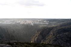 Vistas de Miranda do Douro desde el Fuerte de Torregamones