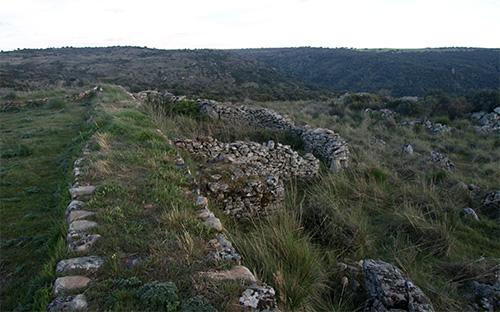 Muro del Fuerte de Torregamones