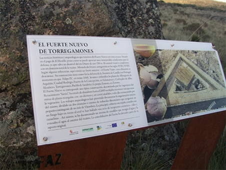 Carte lFuerte de Torregamones