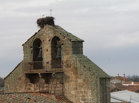 Espadaña de la Iglesia de la Presentación de Torrefrades
