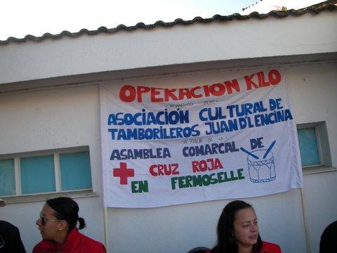 Recogida de alimentos (operación kilo) por parte de la Cruz Roja de Fermoselle