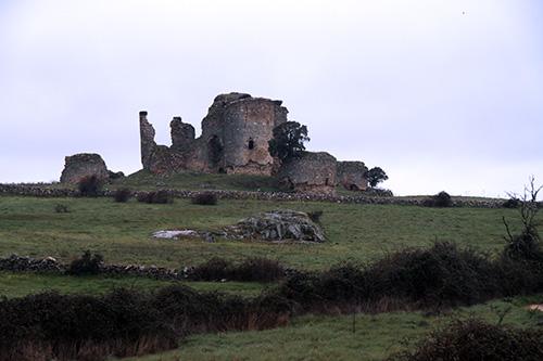 Cuatro torres se estructuran en torno a la torre del homenaje del Castillo de Asmesnal
