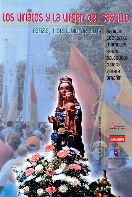 Cartel romería de los Viriatos de Fariza