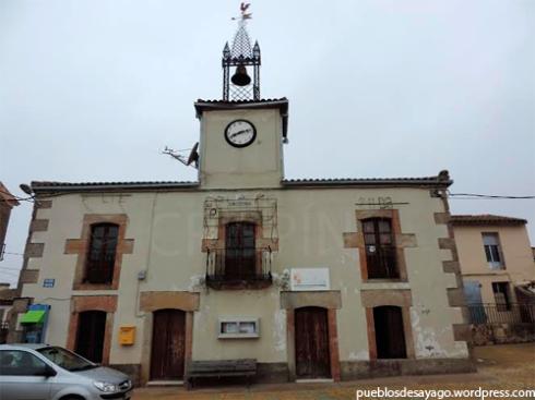 Fachada del Ayuntamiento de Moraleja de Sayago