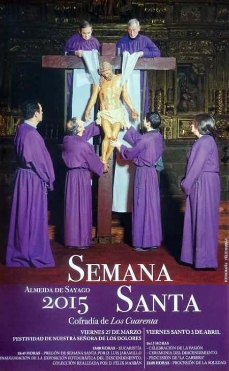 Cartel Semana Santa de Almeida de Sayago