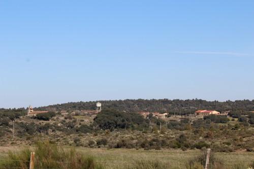 Vista general de Cozcurrita en la comarca de Sayago, Zamora
