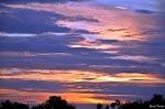 sunset in moralina de sayago, zamora