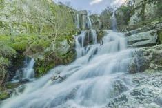 Cascada de Abelón / Foto Cristian Ignacio Isidro