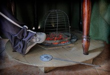 Brasero de cisco / Foto de Sara Garrido Seco
