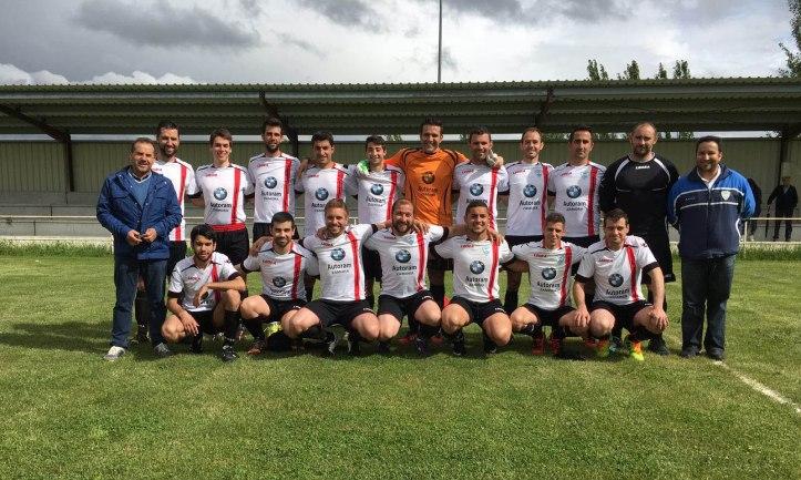 club deportivo sayagues en el estadio de Santarem en Bermillo de SAyago (Zamora)