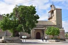 Grabando junto a la parroquia de Carbellino / Foto de Javier Pérez Andrés