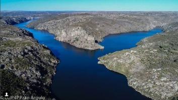 Confluencia del Esla y el Duero / Imagen de drone captada por Fran Argulo
