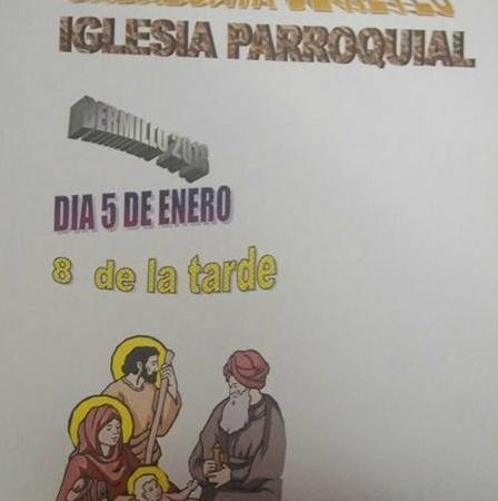 Cartel Cabalgata de Reyes de la Iglesia Parroquial de Bermillo de Sayago