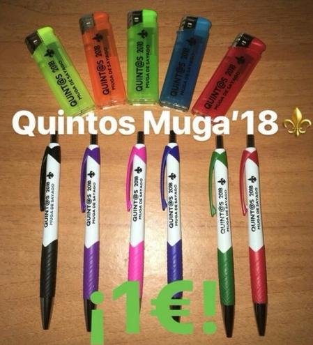 Merchandising de los Quintos de Muga de Sayago
