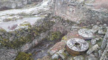 Restos del Molino de Ceferina en Tudera, Sayago, España