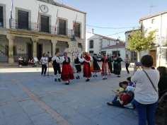 Grupo de baile de la escuela de folclore / Foto: L.N