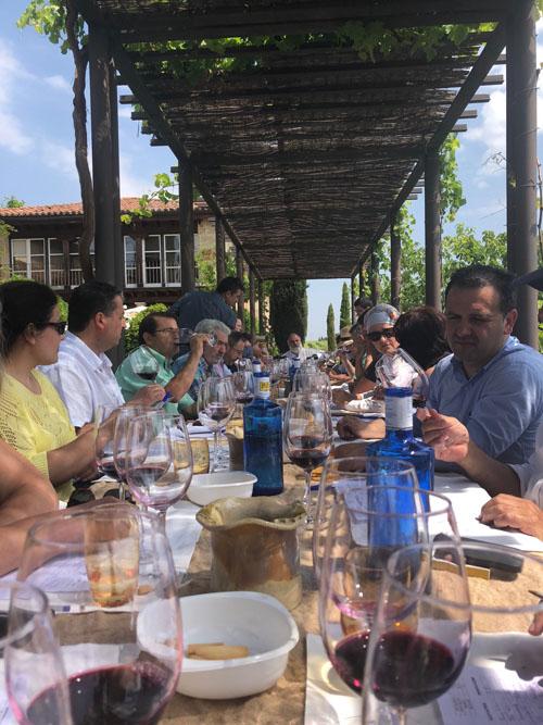 Cata de Vinos Tintos de la DO Arribes / Fuente: Secretaría DO Arribes