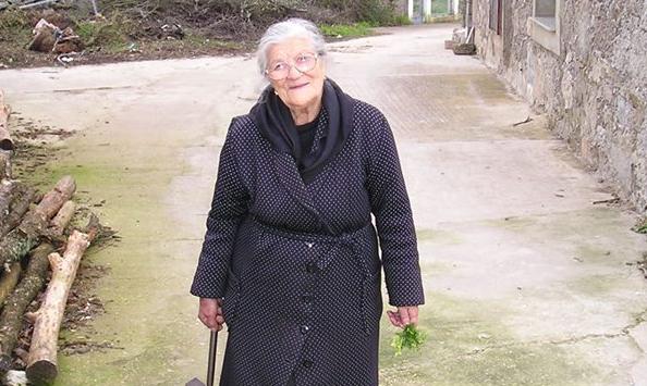 Isabel García Fadón, vecina de Bermillo de Sayago