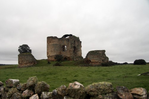 Foto del Castillo de Asmesnal en Alfaraz de Sayago, Zamora