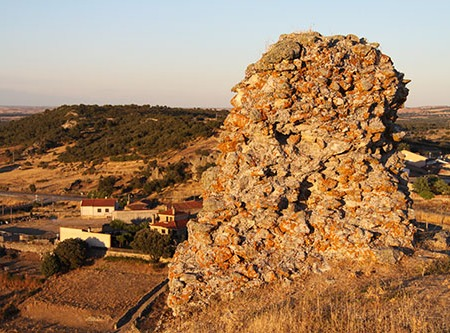 Castillo de Peñausende en Sayago, Zamora
