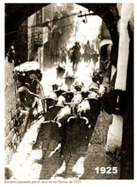 Encierros de Fermoselle en 1925
