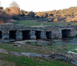 Puente de la rivera del mimbre en Cozcurrita / Foto: MP