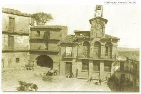 Plaza mayor fermoselle
