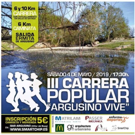 cartel carrera popular argusino vive