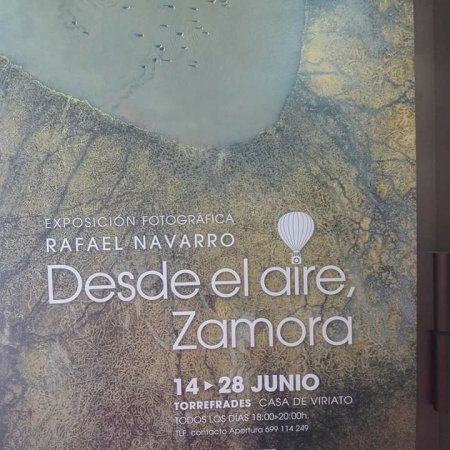 Cartel Exposición Zamora desde el Aire