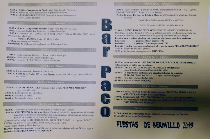 programa-fiestas-bermillo-2019-pueblosdesayago