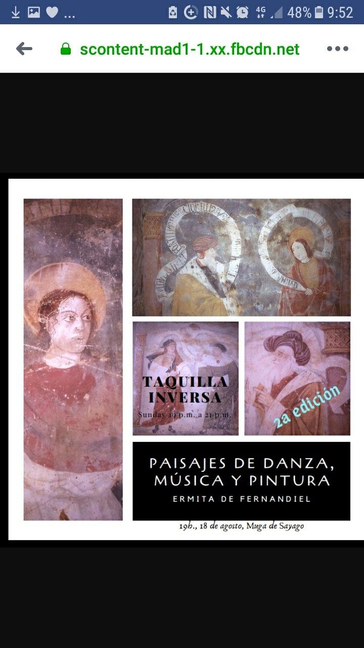 Concierto benéfico en la Ermita de Fernandiel