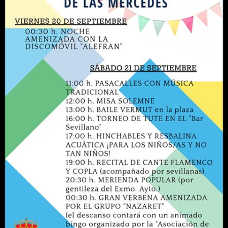Cartel Fiestas de Pino del Oro (Zamora)