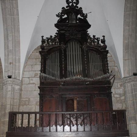 organo iglesia de la asunción de fermoselle