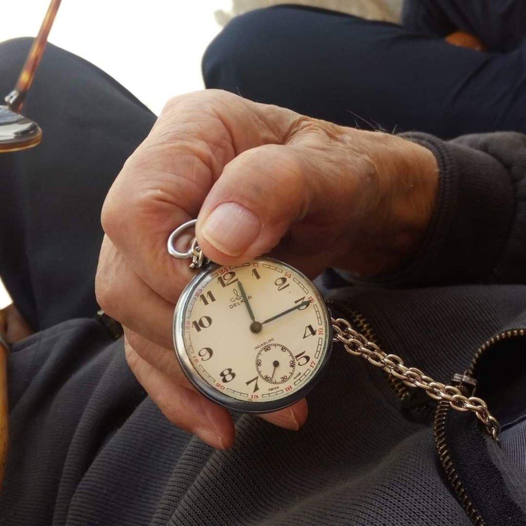 reloj de bolsillo de Miguel