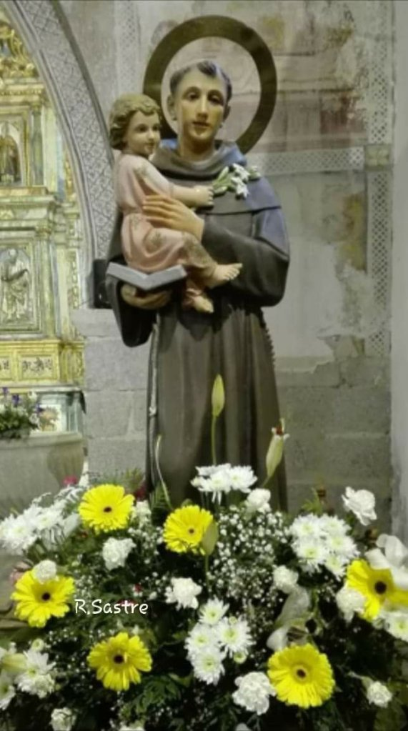 Imagen de San Antonio de Padua de Torrefrades, comarca de Sayago, Zamora