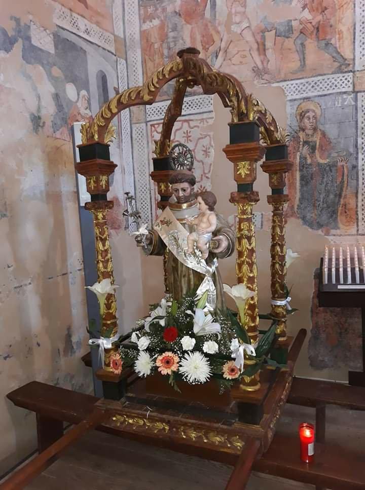 Imagen de San Antonio de Padua de Carbellino, comarca de Sayago, Zamora