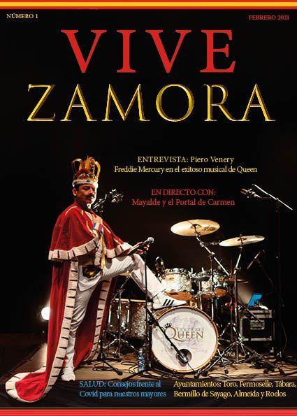 portada número 1 revista Vive Zamora